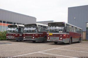 St. RoMeO RET 562, HOVM HTM 117 en St. BRAM GVB 301 Den Haag Pieter de Vries